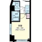 人気のバストイレ別の1Kタイプ(間取)