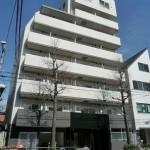 8階建ての分譲賃貸マンション(外観)