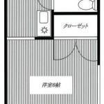 1Kタイプのお部屋(間取)
