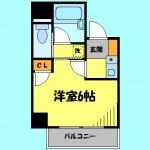バス・トイレ別の1Kです!(間取)