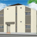 新築賃貸アパート(外観)