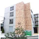 コンクリート打ちっぱなしのオシャレなマンション(外観)