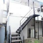 駅近の賃貸アパート(外観)