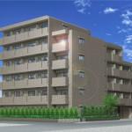 人気の新築分譲賃貸マンション(外観)