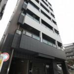 9階建ての分譲賃貸マンション(外観)
