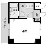 2面採光のお部屋(間取)